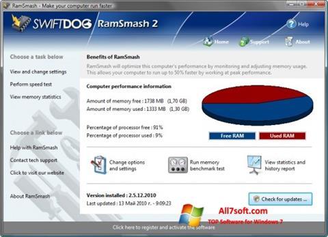 Screenshot RamSmash untuk Windows 7