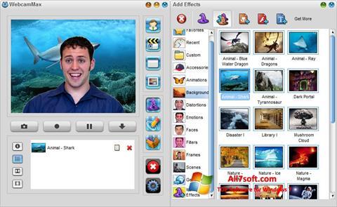 Screenshot WebcamMax untuk Windows 7