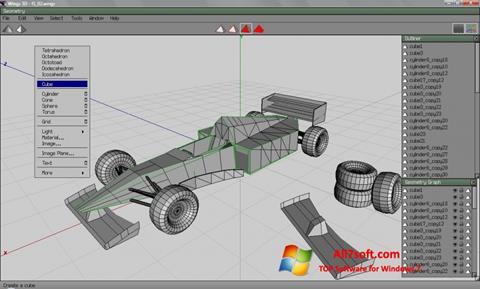 Screenshot Wings 3D untuk Windows 7