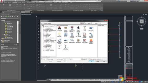 Screenshot AutoCAD Electrical untuk Windows 7