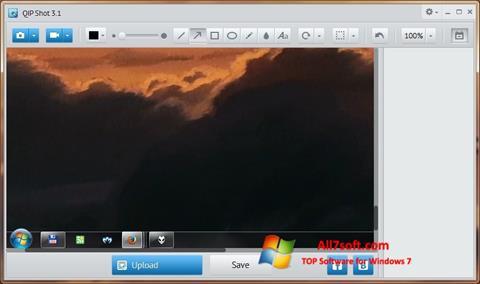 Screenshot QIP Shot untuk Windows 7