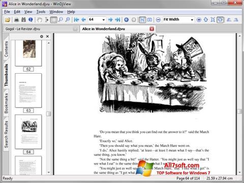 Screenshot DjView untuk Windows 7