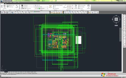 Screenshot DWG TrueView untuk Windows 7