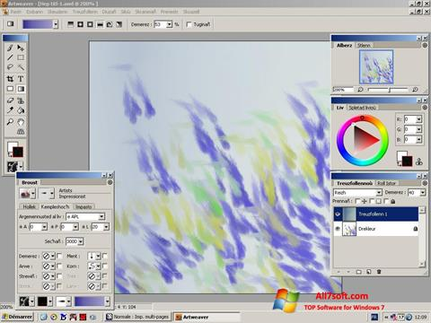 Screenshot Artweaver untuk Windows 7