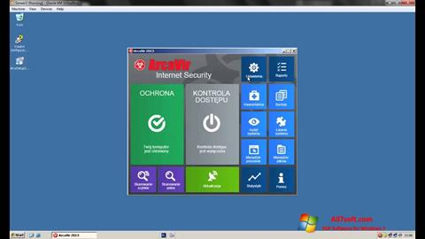 Screenshot ArcaVir untuk Windows 7