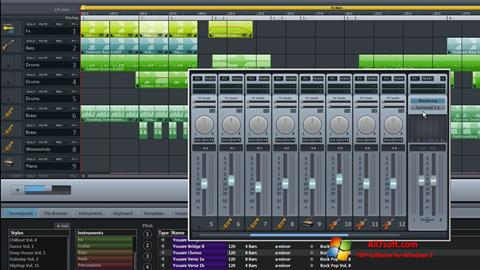 Screenshot MAGIX Music Maker untuk Windows 7