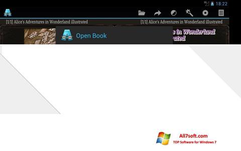 Screenshot AlReader untuk Windows 7