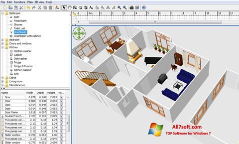 Screenshot FloorPlan 3D untuk Windows 7