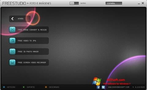 Screenshot Free Studio untuk Windows 7