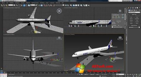 Screenshot 3ds Max untuk Windows 7