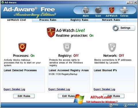 Screenshot Ad-Aware Free untuk Windows 7
