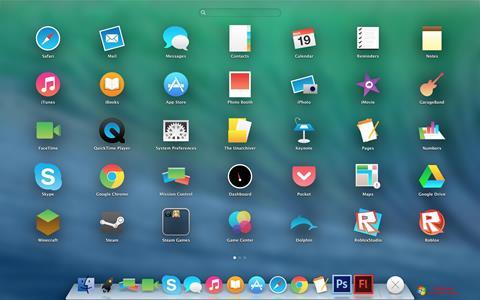 Screenshot OS X Flat IconPack Installer untuk Windows 7