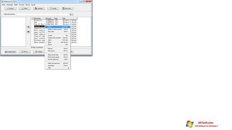 Screenshot ArtMoney Pro untuk Windows 7