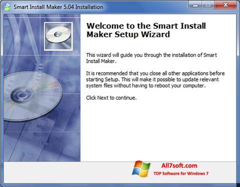 Screenshot Smart Install Maker untuk Windows 7