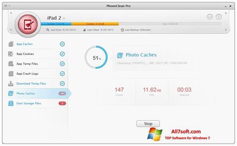 Screenshot PhoneClean untuk Windows 7