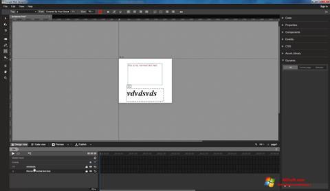 Screenshot Google Web Designer untuk Windows 7