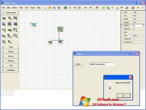 Screenshot HiAsm untuk Windows 7