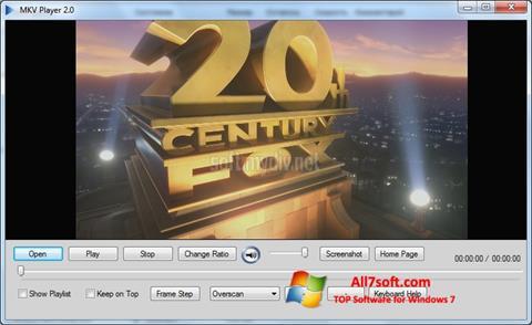 Screenshot MKV Player untuk Windows 7