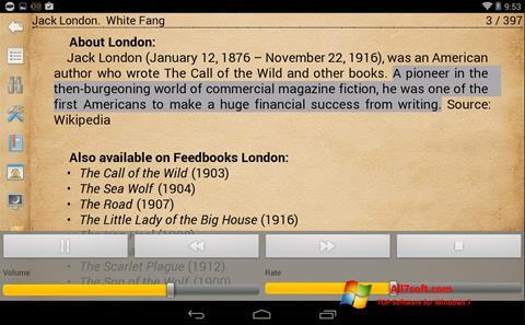 Screenshot Cool Reader untuk Windows 7