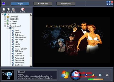 Screenshot Online TV Live untuk Windows 7