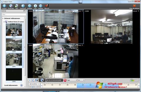 Screenshot Ivideon Server untuk Windows 7