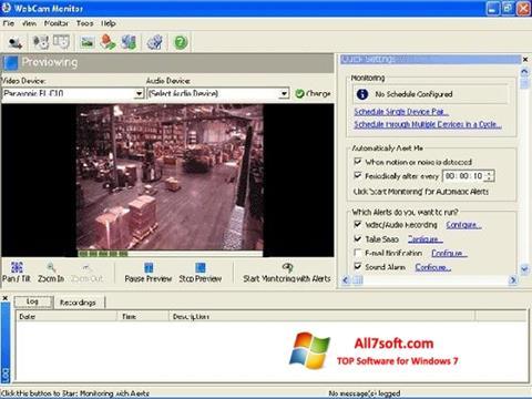 Screenshot WebCam Monitor untuk Windows 7