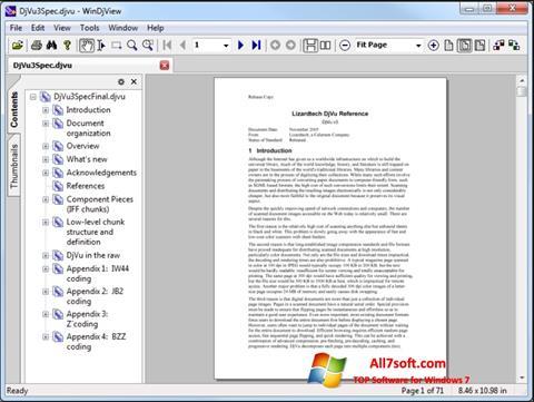 Screenshot WinDjView untuk Windows 7