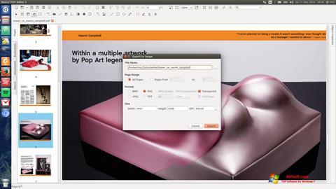 Screenshot Master PDF Editor untuk Windows 7