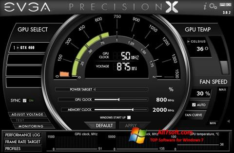 Screenshot EVGA Precision X untuk Windows 7