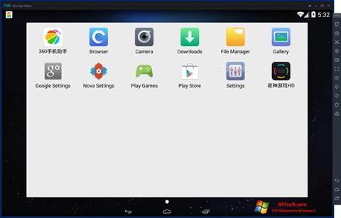 Screenshot Nox App Player untuk Windows 7