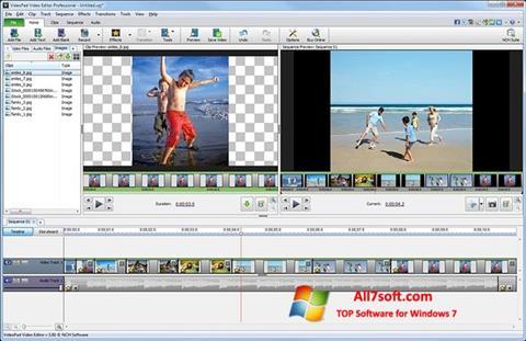 Screenshot VideoPad Video Editor untuk Windows 7
