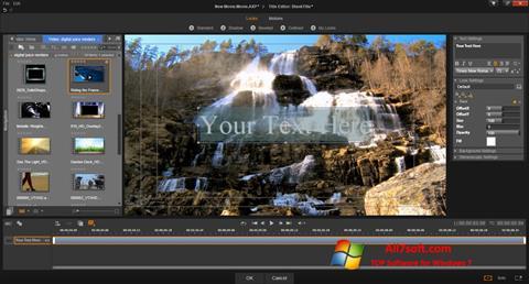 Screenshot Pinnacle Studio untuk Windows 7