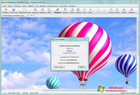 Screenshot FastStone Capture untuk Windows 7