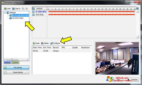 Screenshot D-ViewCam untuk Windows 7