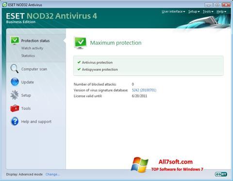 Unduh ESET NOD32 untuk Windows 7 (32/64 bit) Indonesia