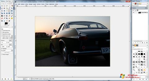 Screenshot GIMP untuk Windows 7