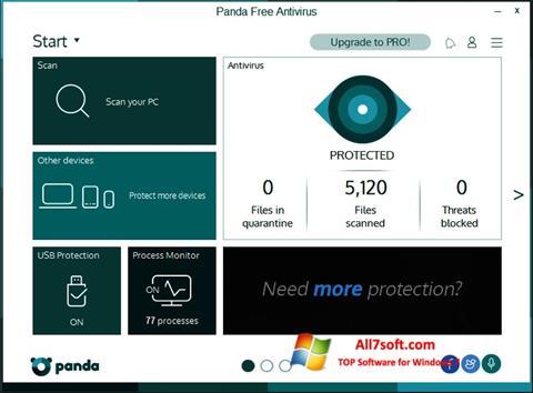 Screenshot Panda untuk Windows 7