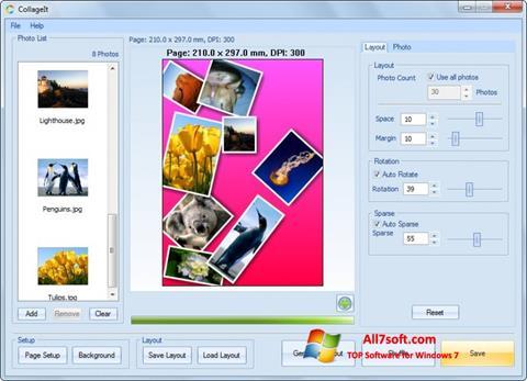 Screenshot CollageIt untuk Windows 7
