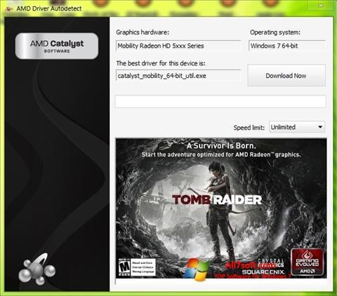 Screenshot AMD Driver Autodetect untuk Windows 7