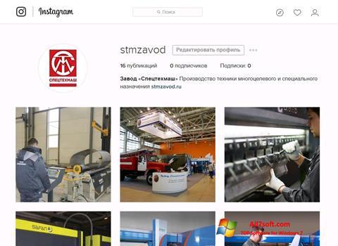 Screenshot Instagram untuk Windows 7