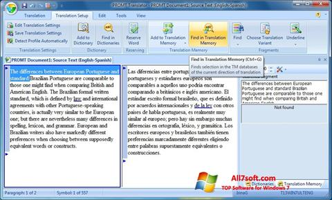 Screenshot PROMT untuk Windows 7