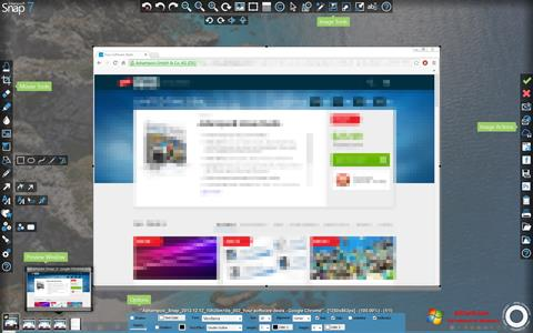 Screenshot Ashampoo Snap untuk Windows 7