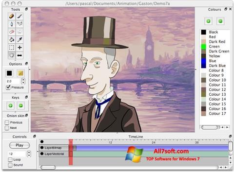 Screenshot Pencil untuk Windows 7