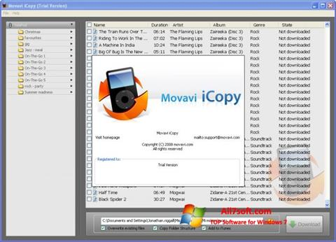 Screenshot iCopy untuk Windows 7
