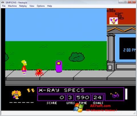 Screenshot Nestopia untuk Windows 7