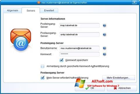 Screenshot IncrediMail untuk Windows 7