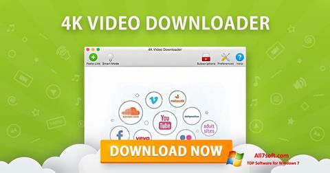 Screenshot 4K Video Downloader untuk Windows 7