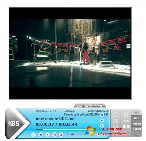 Screenshot BSPlayer untuk Windows 7