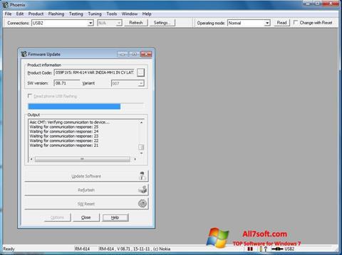 Screenshot Phoenix untuk Windows 7