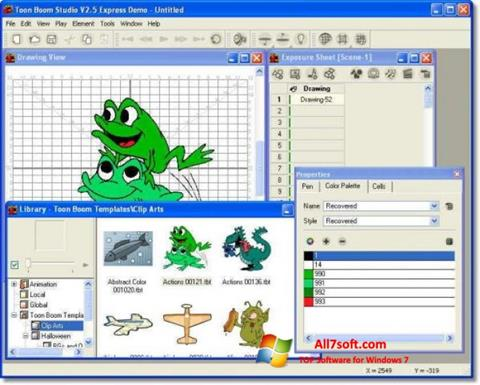 Screenshot Toon Boom Studio untuk Windows 7